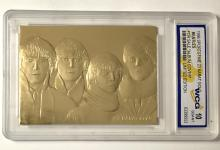 THE BEATLES - 23k Gold Merrick Mint Album Cover Trading Card