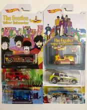 Sealed Limited Production THE BEATLES Hot Wheels Die-Cast Toy Cars