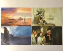 Lot of 4 - STAR WARS Movie Saga Color Lithographs (1)