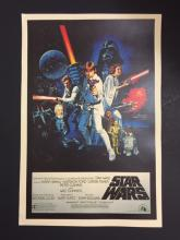 1977 STAR WARS Movie Theater Lobby Card Poster