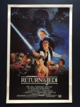 1983 STAR WARS Return of the Jedi Movie Lobby Card Poster