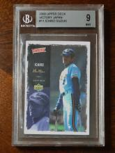 Beckett Graded Mint ICHIRO SUZUKI Rookie Baseball Card