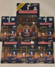 Rare Lot of Vintage Corinthian NBA Headliners Star Basketball Figures