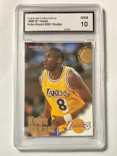 KOBE BRYANT Gem 10 NBA Hoops Rookie Basketball Card