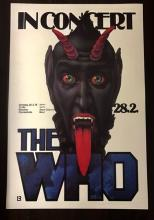 The WHO Live in Germany Concert Poster