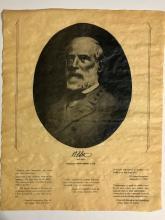 Civil War ROBERT E. LEE Thoughts/Memoirs Parchment Document
