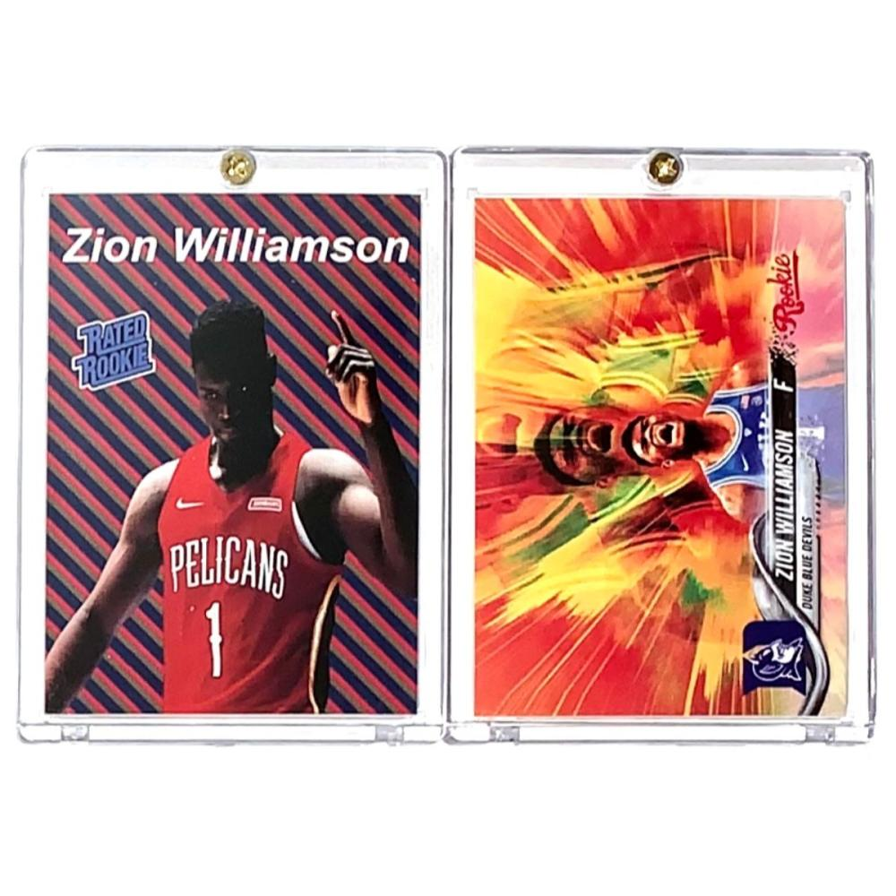 Lot Of 2 Zion Williamson Rookie Basketball Cards