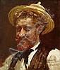 CORMON Fernand (1845-1924) PORTRAIT DE L'AMI