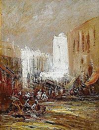 DUFEU Edouard-Jacques (1840 - 1900) CONSTANTINOPLE