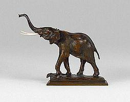SEYSSES Auguste (1862 - 1946) ELEPHANT BARISSANT