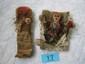2 Peruvian tomb dolls