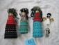 5 Ndebele dolls,Africa