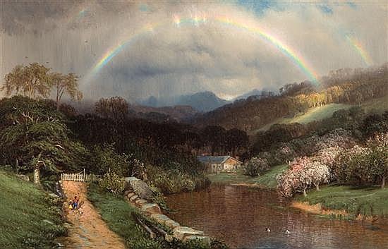 SAMUEL COLMAN American (1832-1920)