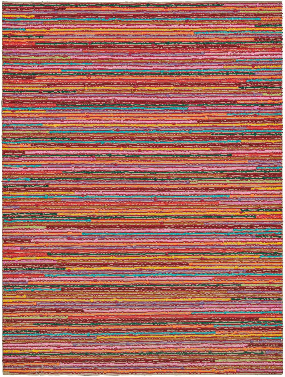 "PAUL SHARITS, American (b. 1943), ""For Peach II"", acrylic on canvas, 36 x 48 inches"