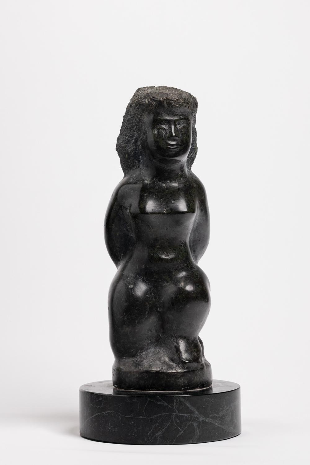 CHAIM GROSS, American (1904-1991), Female Nude, marble, height: 13 inches