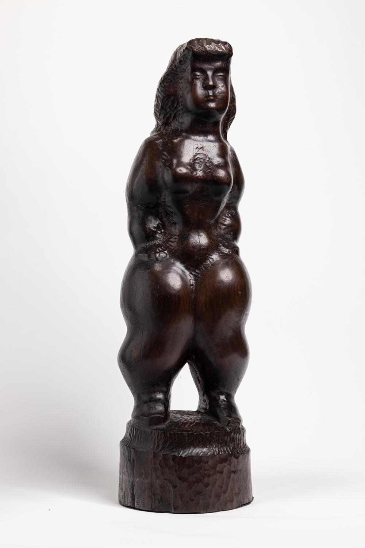 CHAIM GROSS, American (1904-1991, Female Nude, wood, height: 28 inches