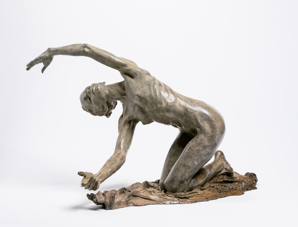 "RICHARD MACDONALD, American (b. 1946), ""Dawn"", bronze, height: 15 inches"