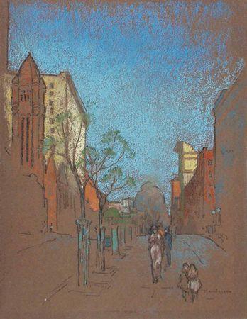 WILLIAM PENHALLOW HENDERSON American (1877-1943)