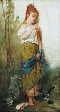 WALTER SHIRLAW American (1838-1909)
