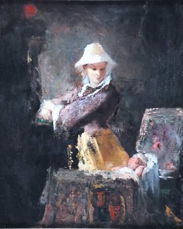 ROBERT WYLIE American (1839-1877)