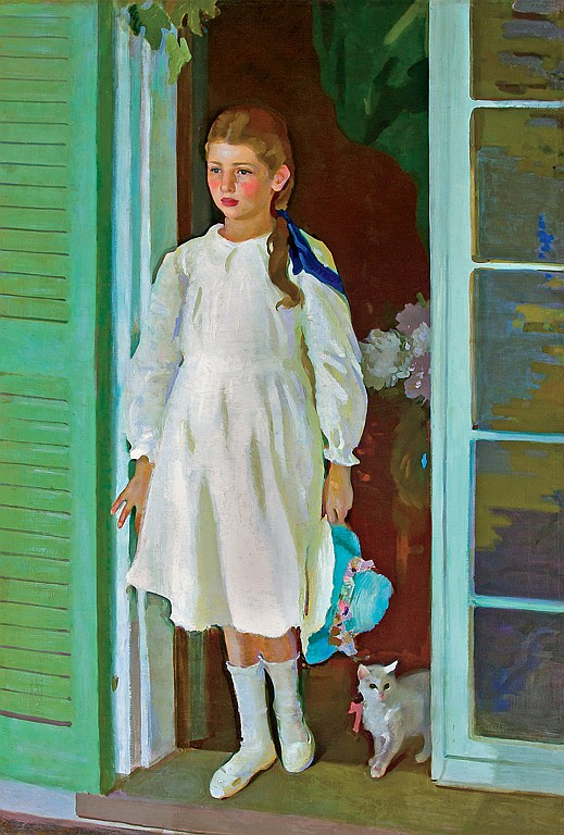 CHARLES SYDNEY HOPKINSON, American (1869-1962),