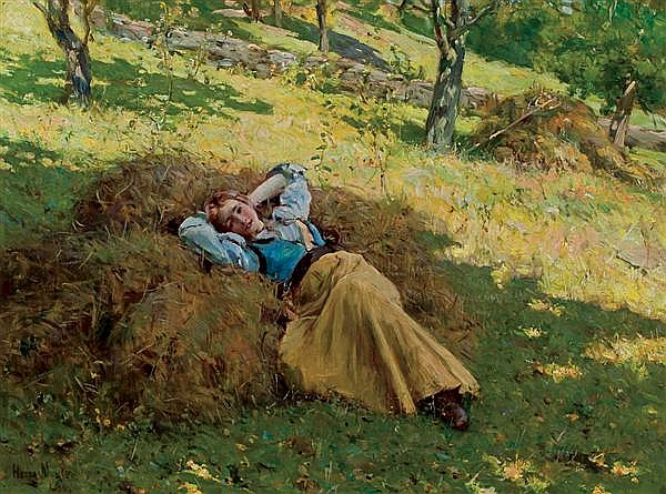HENRY MOSLER, American (1841-1920),