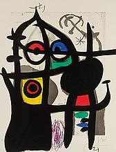 JOAN MIRO, Spanish (1893-1983),