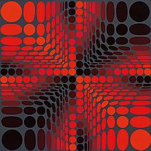 VICTOR VASARELY, French (1906-1997),