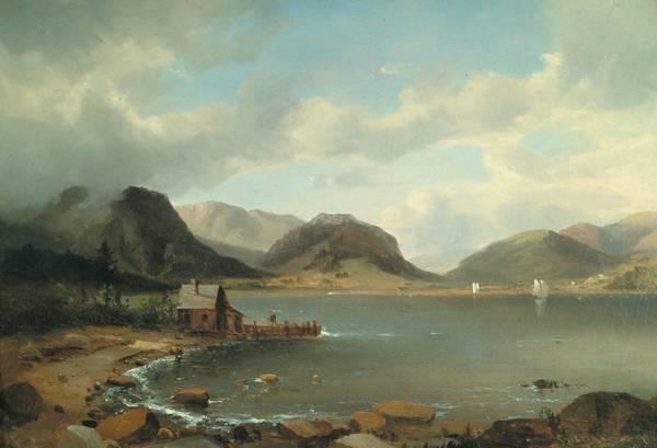 REGIS FRANCOIS GIGNOUX American (1816-1882)