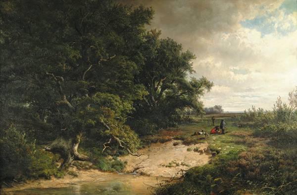 HENDRIK DIRK KRUSEMAN VAN ELTEN Dutch/American (1829-1904)