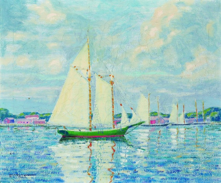 WHITNEY MYRON HUBBARD American (1875-1965)