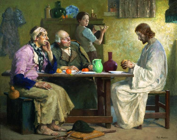 Gari Melchers American 1860 1932 Quot The Supper At Emmaus Quot