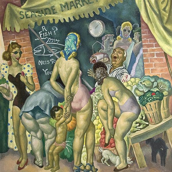 EUGENE FRANCIS SAVAGE American (1883-1978)