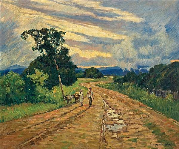 GEORGE HAUSDORF, American (1888-1959),
