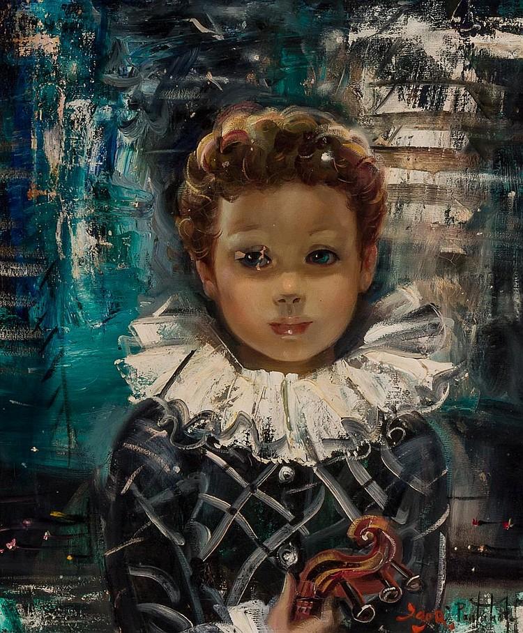 Sold Price: Igor PANTUHOFF (1911-1972) Russian - American