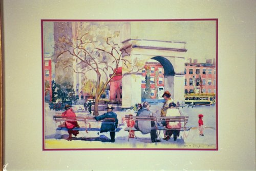 Ida Sedgwick Proper American 1873 1957 Washington Square