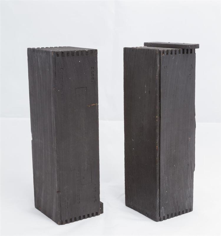 LOUISE NEVELSON, American (1899-1988), Sculpture - in Two Pa