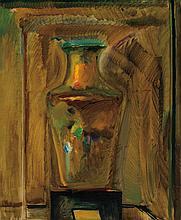GUSTAW GWOZDECKI, Polish (1880-1935), The Vase, oil on canvas, signed lower left., 30 x 25