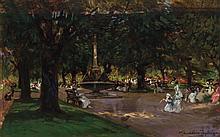 ALBERT CHEVALLIER TAYLOR, English (1862-1925),