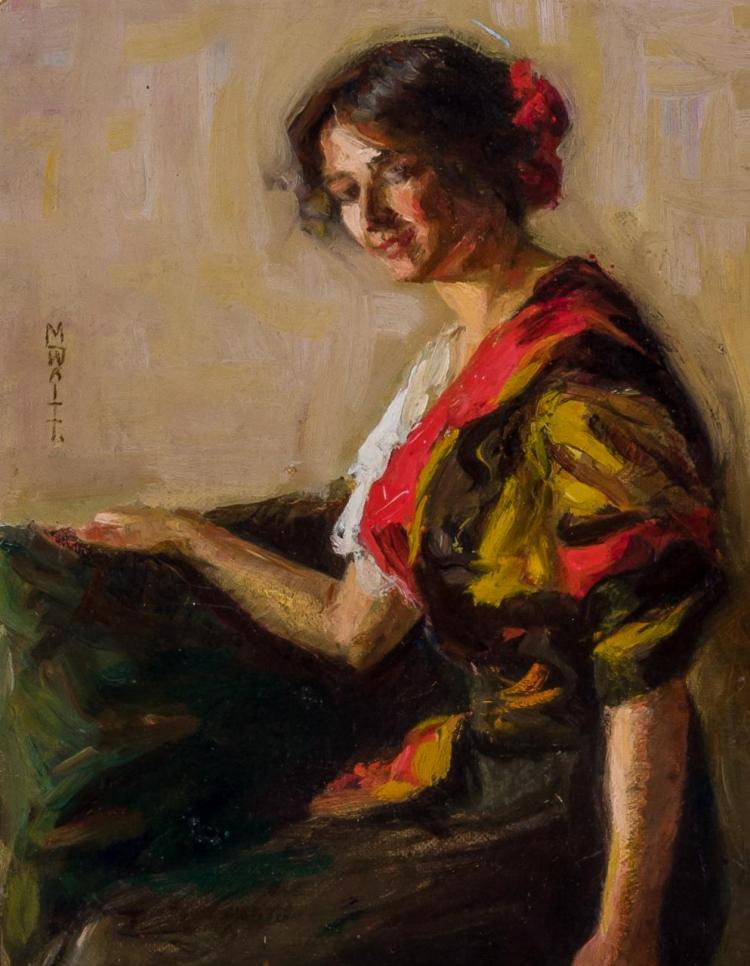 MARION PARKHURST WAITT SLOANE, American (1876-1954),
