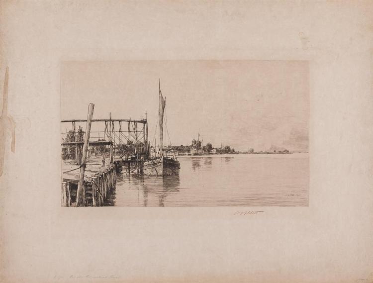 CHARLES ADAMS PLATT, American (1861-1933),