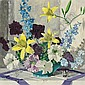CARL E. LAWLESS American (1894-1964) Still Life with Daffodils oil on canvas, signed lower right., Carl Lawless, Click for value