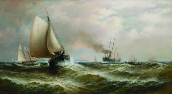 GRANVILLE PERKINS American (1830-1895)