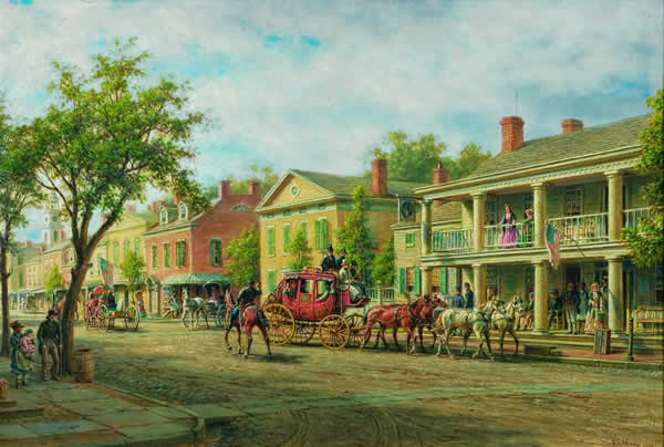 EDWARD LAMSON HENRY American (1841-1919)