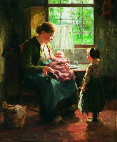 EVERT PIETERS Dutch (1856-1932)