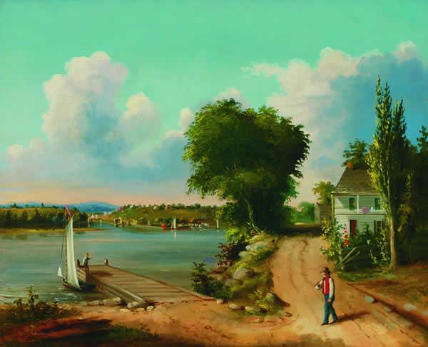 ALBERTUS DEL ORIENT BROWERE American (1814-1887)
