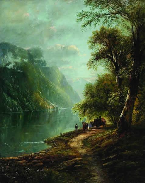 EDMUND DARCH LEWIS American (1835-1910)