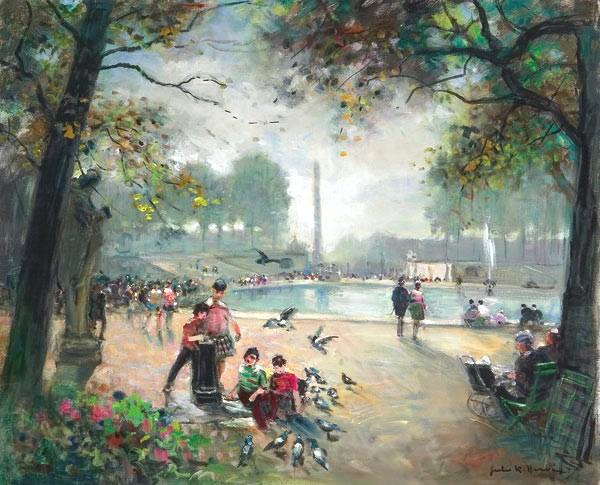 Apple Tree Auction >> Jules René Hervé Artwork for Sale at Online Auction | Jules René Hervé Biography & Info
