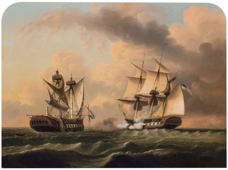 EDMUND C. COATES, American (1816-1871),