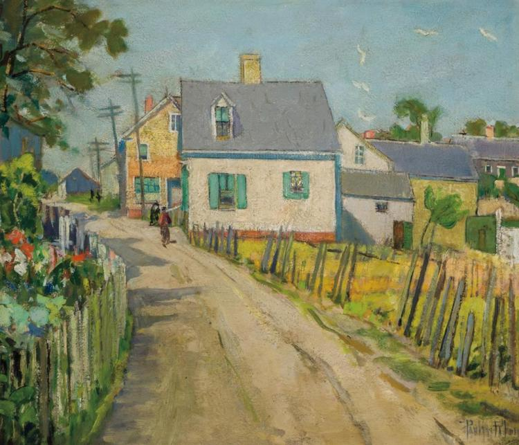PAULINE LENNARDS PALMER, American (1867-1938),